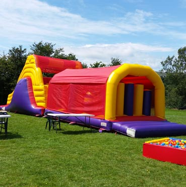 Big Obstacle Course for Hire in Cork
