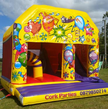 Bouncing Castle with Slide Cork